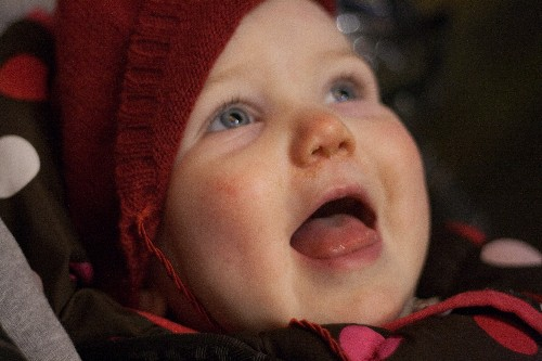 A Snotty Elsie watching the Big Wheel